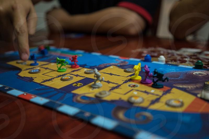 Boardgame (Red November) photo