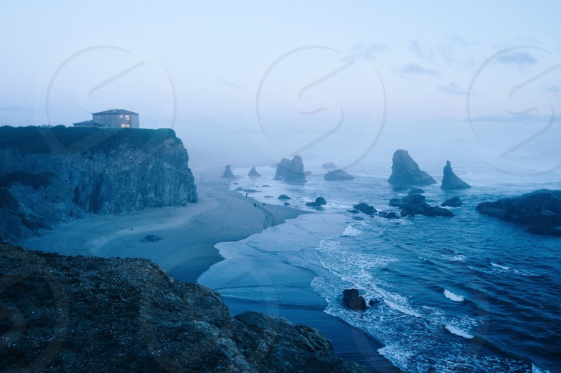 Facerock Bandon beach Oregon Coast photo