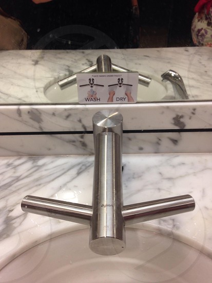 stainless steel faucet photo
