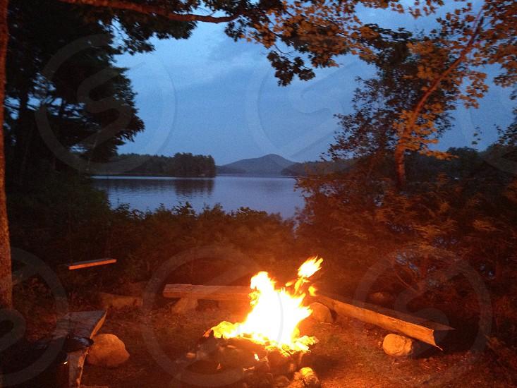 bonfire pit photo