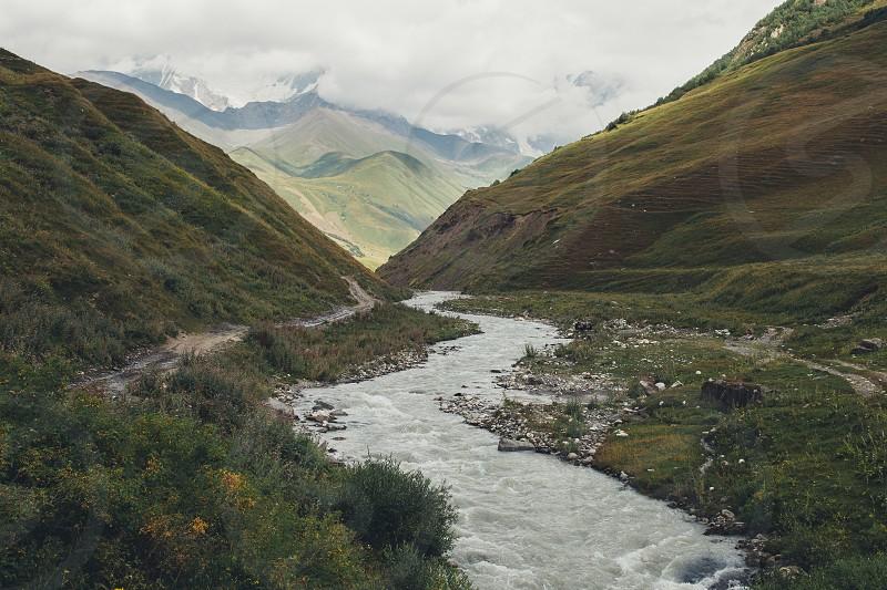 Ushguli Upper Svaneti Georgia photo
