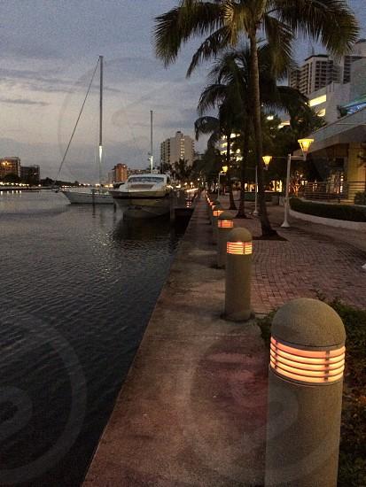 Night lights photo