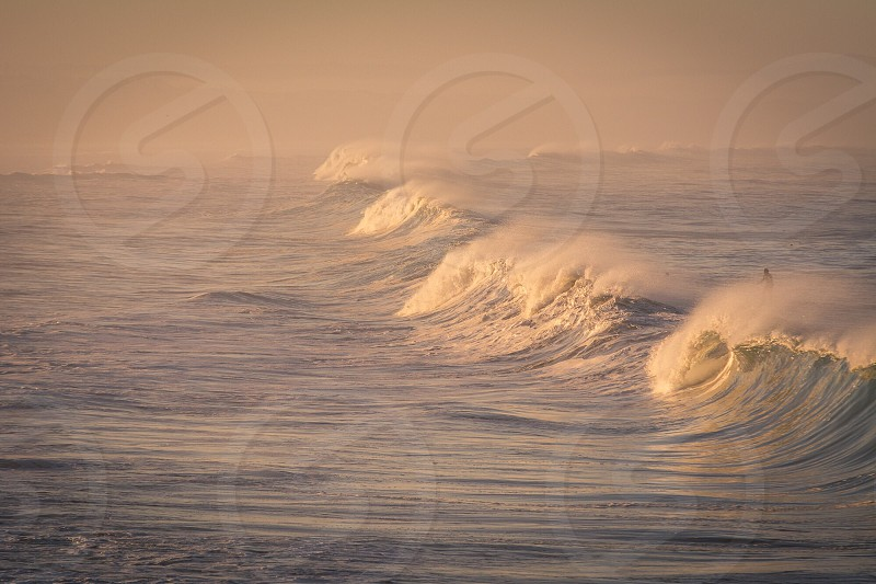 sea waves photo