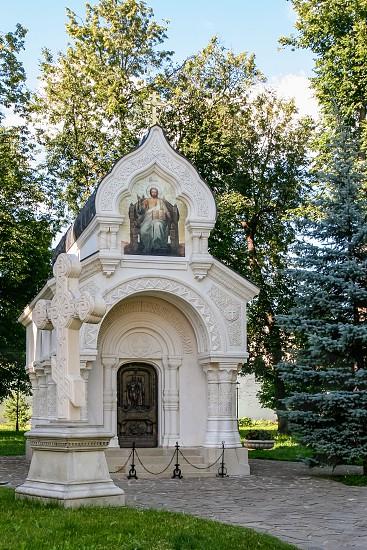 The tomb of Prince Dmitry Pozharsky at the Saviour Monastery of St. Euthymius (Spaso-Evfimiev Monastery) Russia Suzdal photo