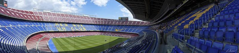 Barca Barcelona soccer photo