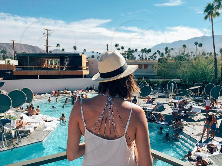pool ace palm springs photo