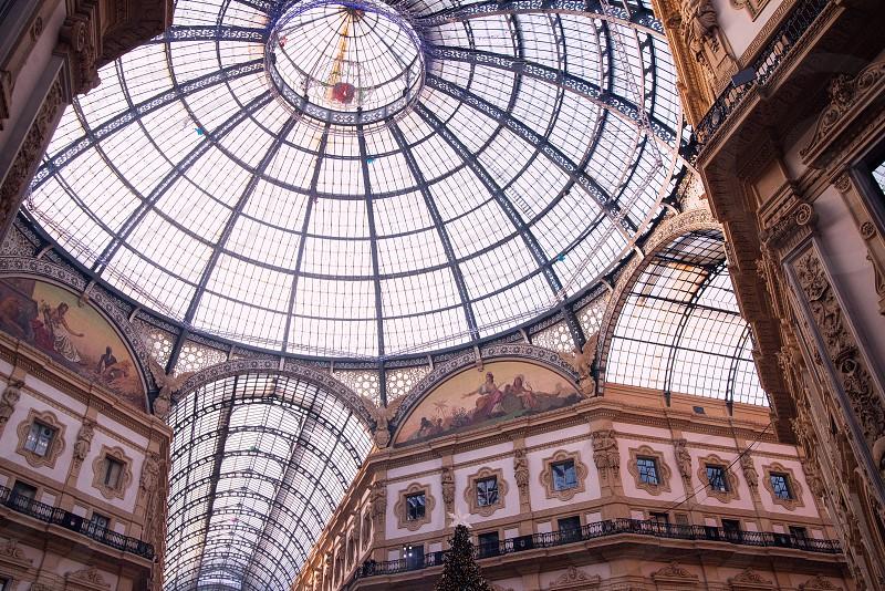 Galleria Vittorio Emanuele II interior photo
