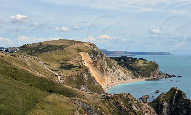 The glorious Dorset Coast UK - involves a lot of walking! photo