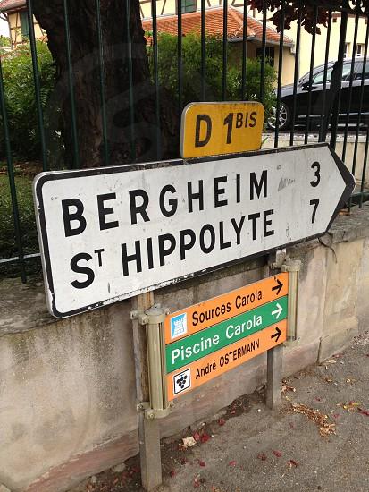 bergheim 3 st hippolyte 7 sign photo