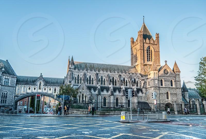 Christ Church Cathedral Dublin Ireland. photo