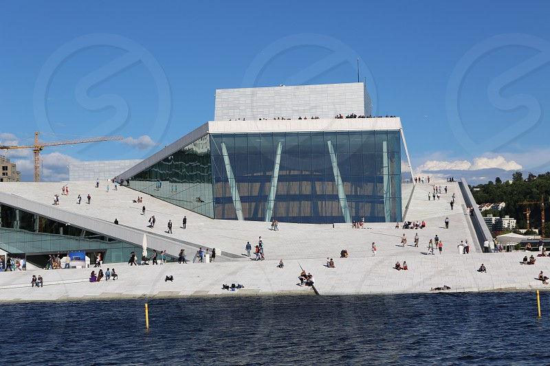 Oslo Opera House Norway photo
