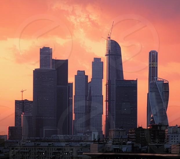 City on fire photo