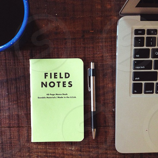 field notes book photo