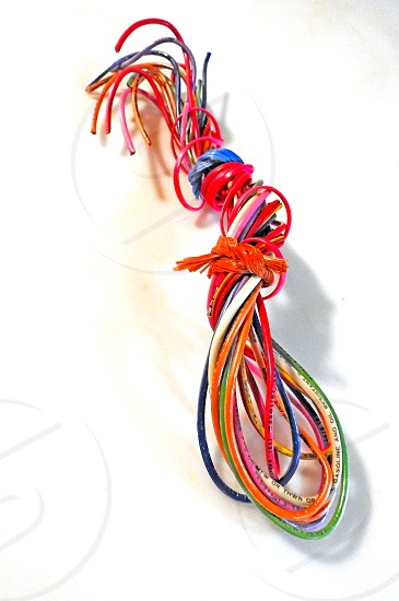 Bundle Of Wire       photo