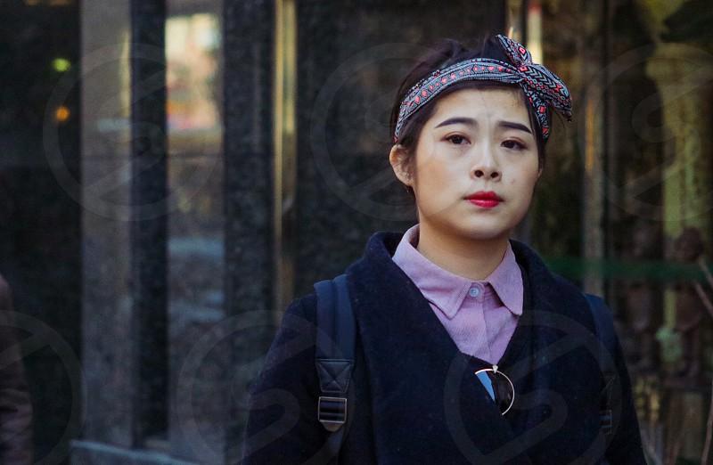 Asian woman fashion  photo
