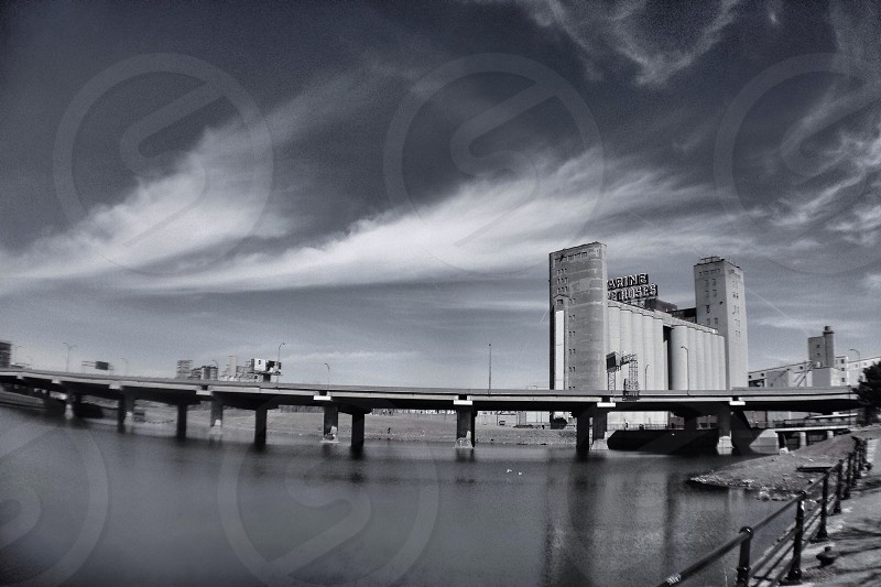 iPhone olloclip shot of downtown Montreal-Lachine  photo