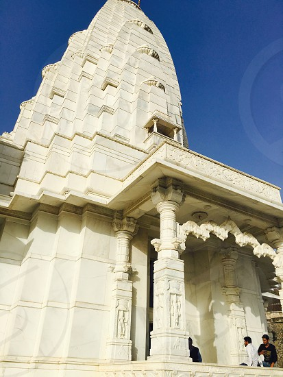 Old temple jaipur photo