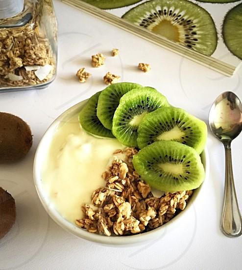 Healthy breakfast  photo