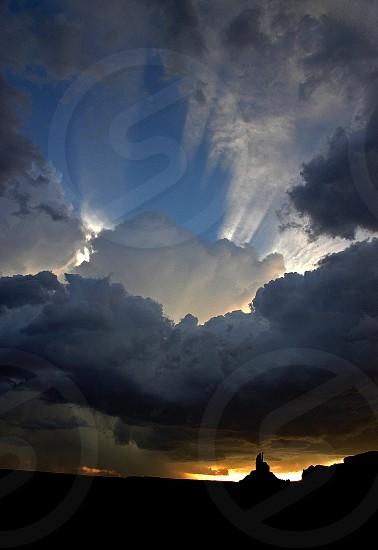 cumulunimbus clouds  photo