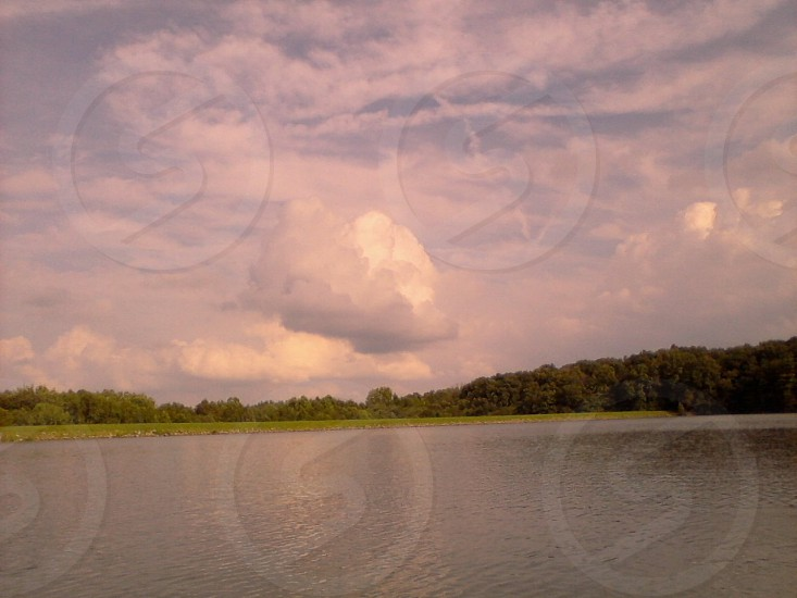A lake in Southern Illinois photo