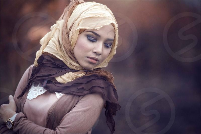 HIjab Portraiture photo