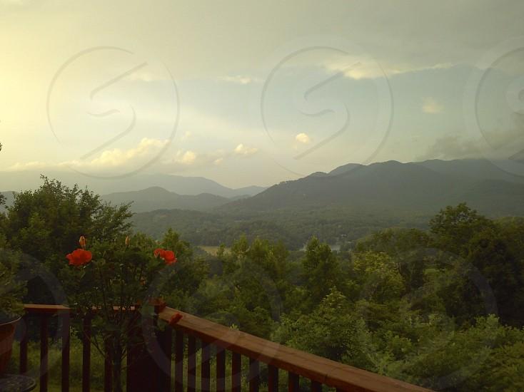 Mountain morning photo