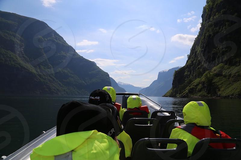 Fjord safari in Flam Norway  photo