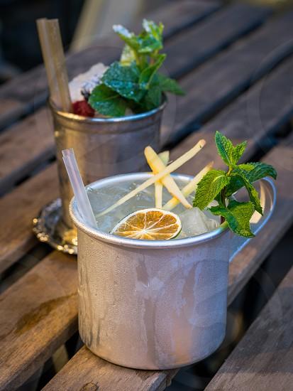 Cocktail-alcoholic mix photo
