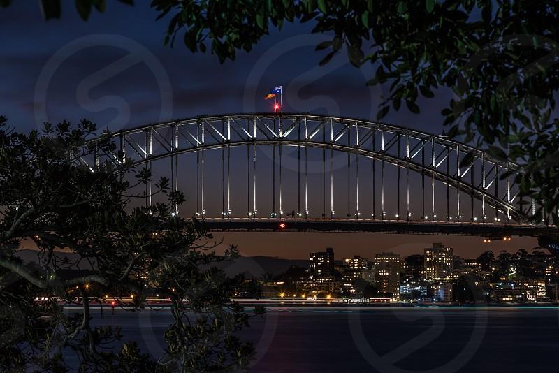 sydney harbour bridge bridge Sydney Australia photo