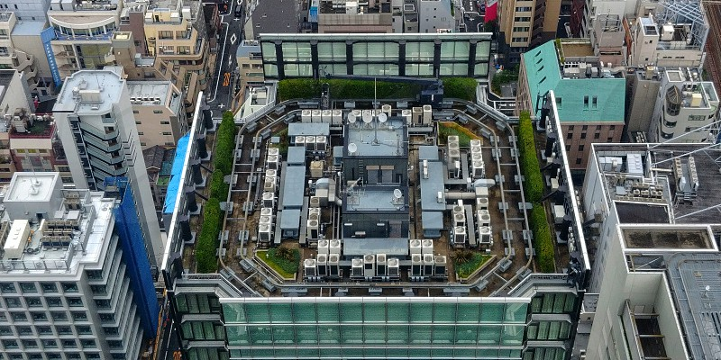 Roof of tokyo photo