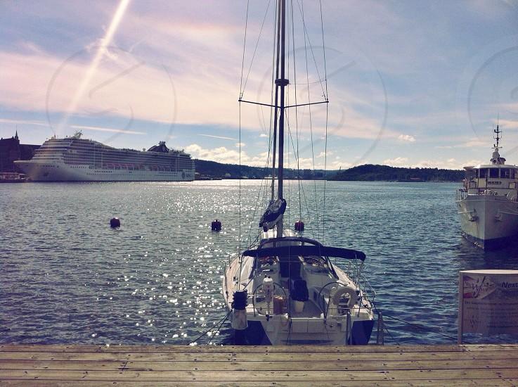 Docked in Oslo photo