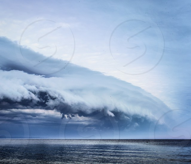 Incoming storm photo