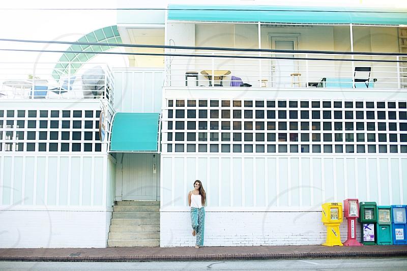 Girls beach aqua hotel  photo