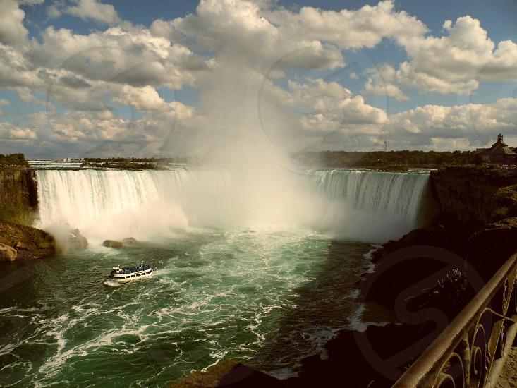 Niagara Falls Canada. photo