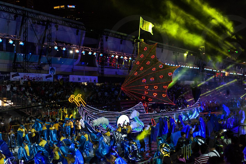 Chingay Festival 2012 in Singapore photo
