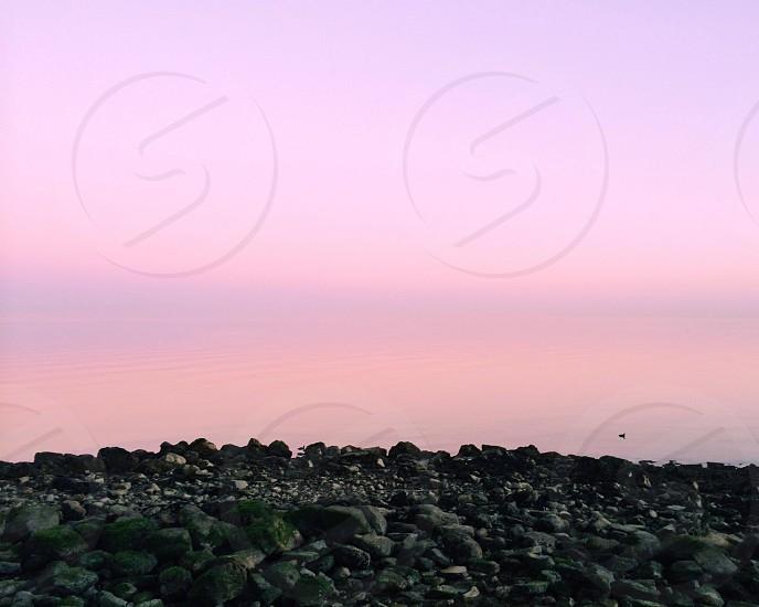 black stones view photo