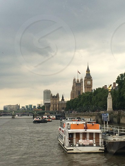 Big Ben & the Houses of Parliament. London. UK. photo