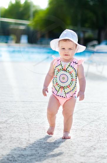 Circle bathing suit  photo