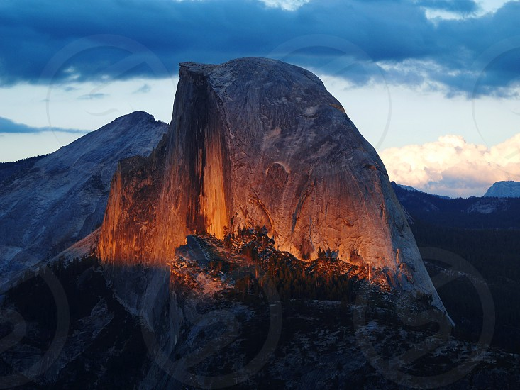 Glacier Point Yosemite National Park photo