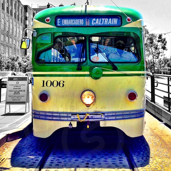 Classic SF streetcar photo