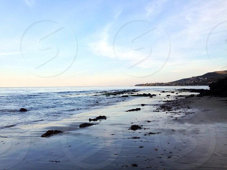 Low tide at dawn photo