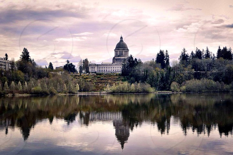 Capitol building in Olympia WA photo