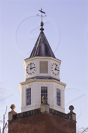 clock tower time architecture landmark siu southern illinois university campus historical landmark photo