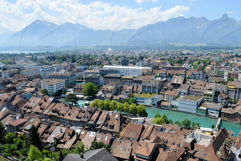 Thun Switzerland photo