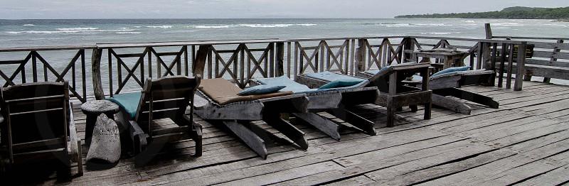 Beach Benches photo