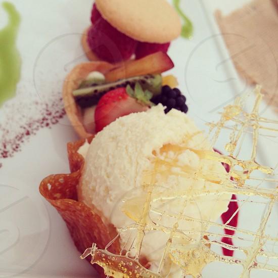 Dessert. Sweet.  photo