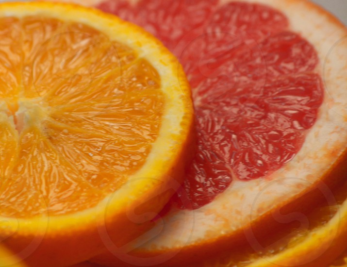 Fruit Orange Colour photo