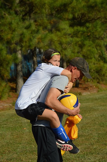 What Dads do. {soccer dad} photo