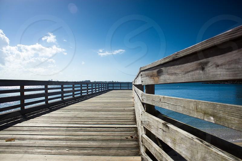 wood boardwalk photo