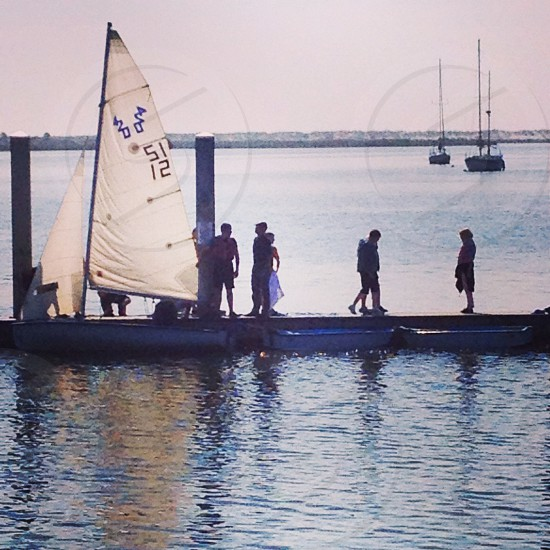 Sailing training for Sea Cadets photo